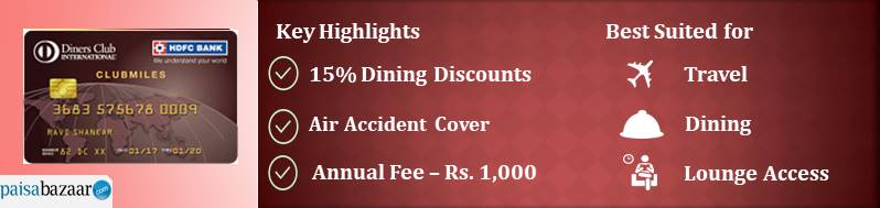 HDFC Bank Diners ClubMiles