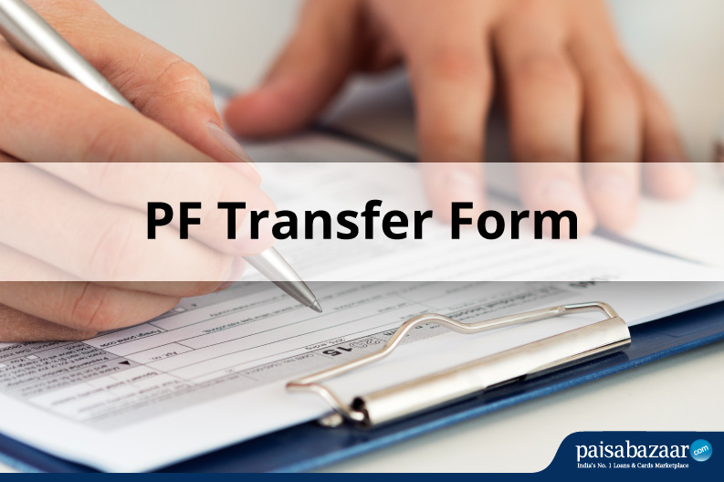 PF Transfer Form