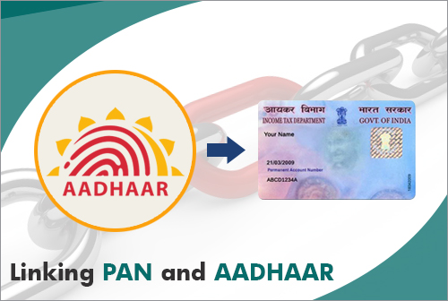 Linking PAN and Aadhar