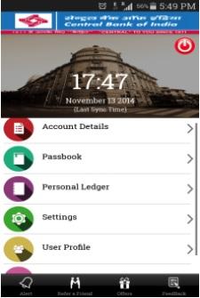 Cent m Passbook Details